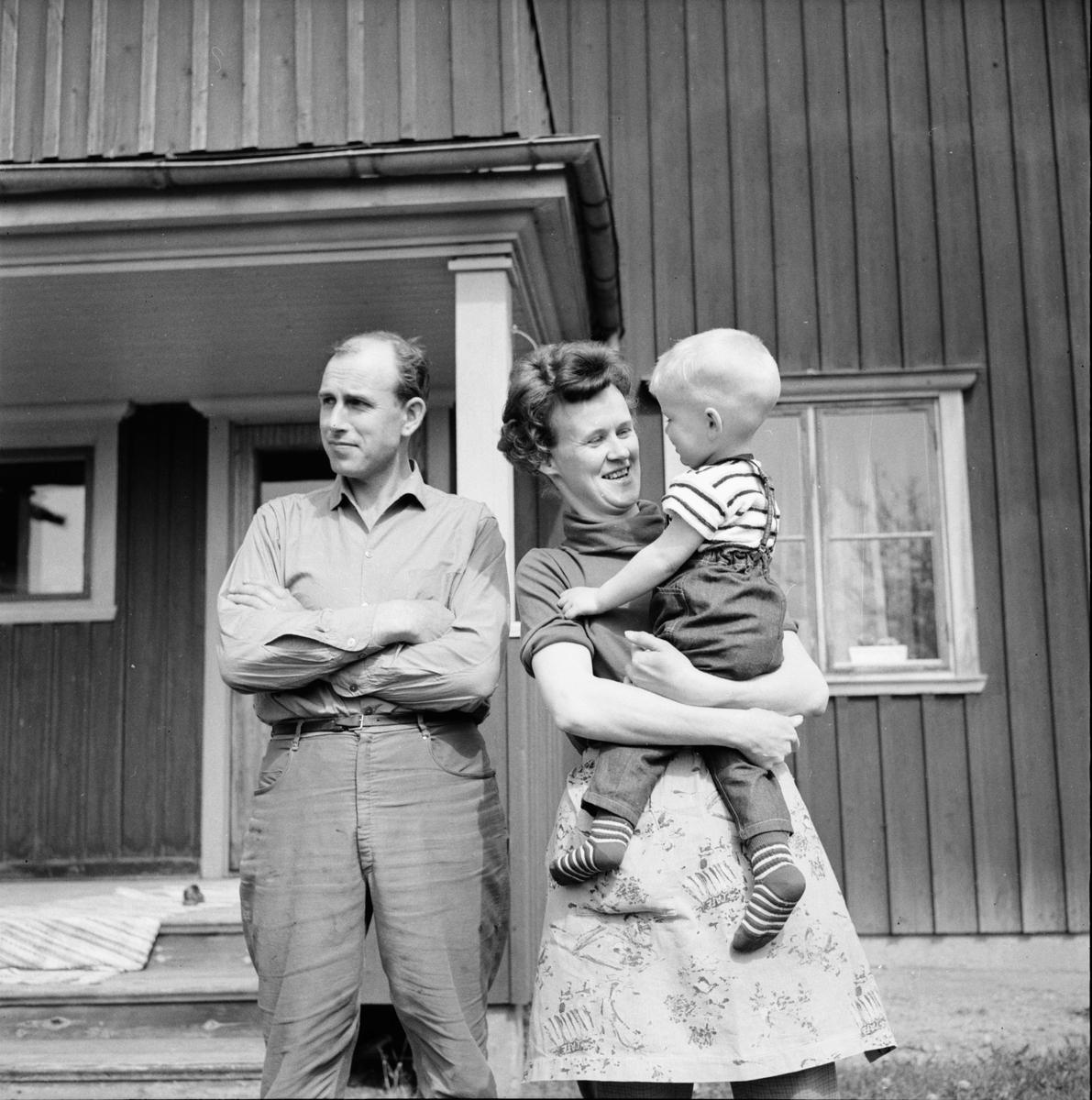 Persson Olle Segersta sista predikan i hemkyrkan 30/5-1965. I Arbrå 31/5-1965