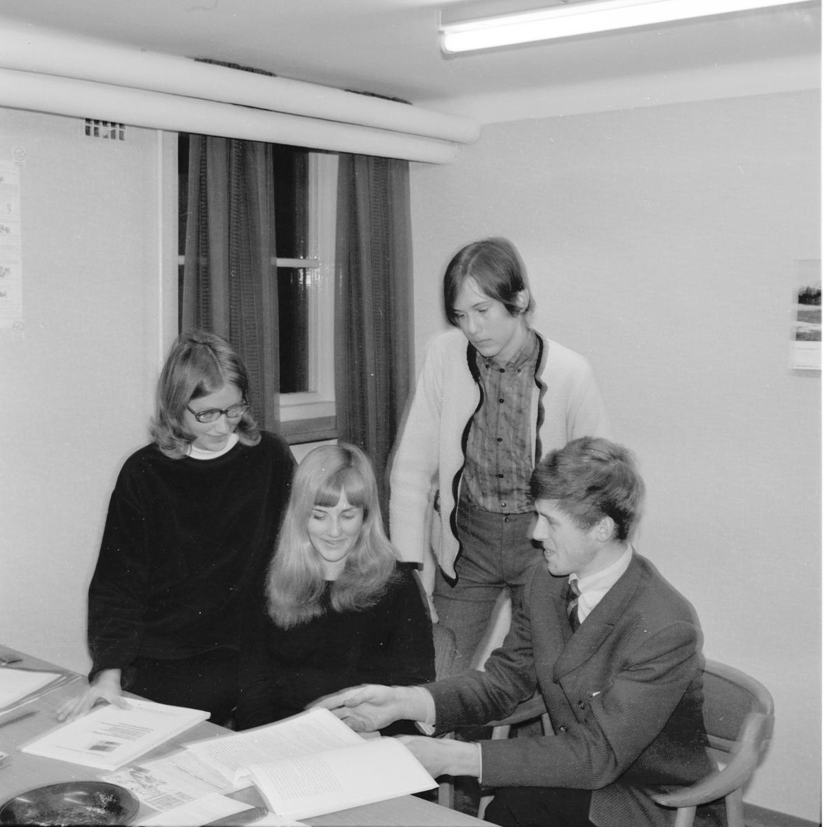 Bollnäs, FPU i Bollnäs, April 1969