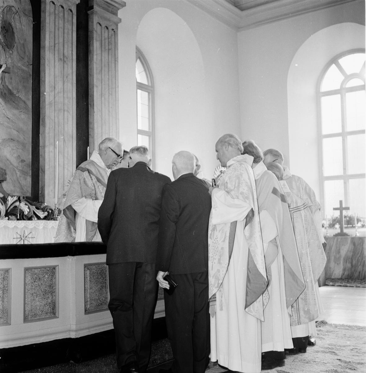 Kyrkoherdeinvignin. Rengsjö Mars 1973