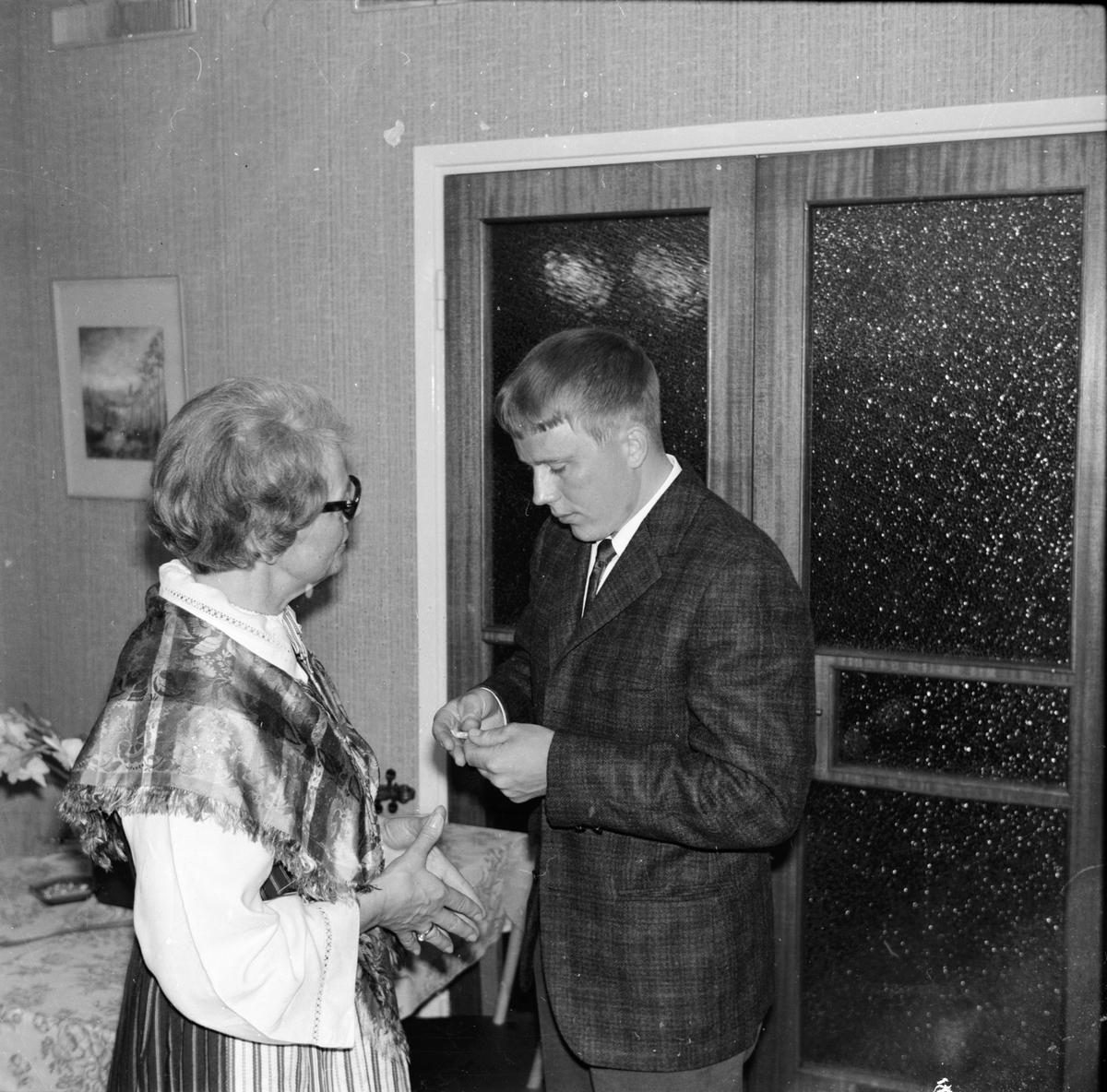 Hembygdsföreningens årmöte Juni 1972