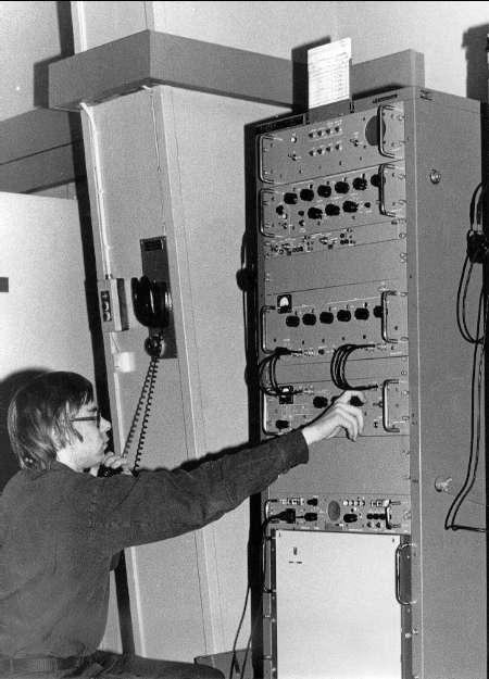 Radiotelegrafist vid S 2.