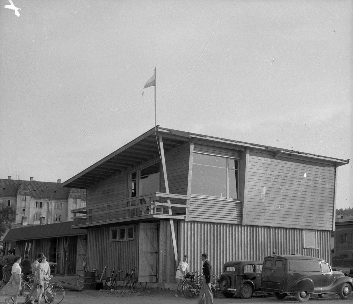 Innvielse av kajakk-klubbens nye hus