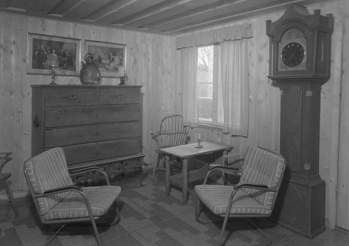 Arkitekt Wilhelm Swensen, bolig i Kongsgårdsgata 2, eksteriør og interiør