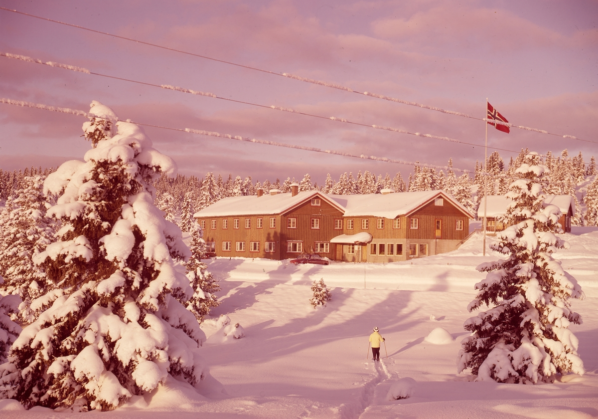 Nytun fjellstue ved Kruk, Valdres.