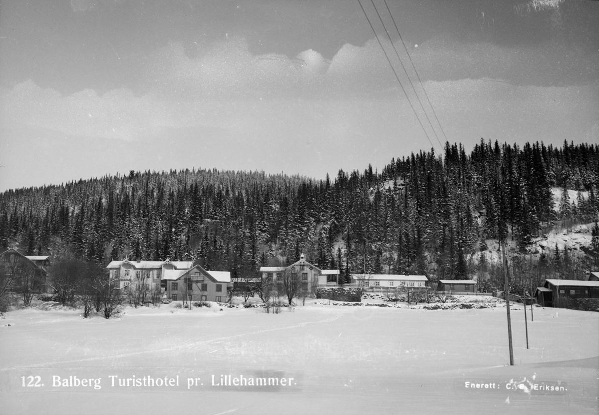 Balberg turisthotell i Lillehammer.