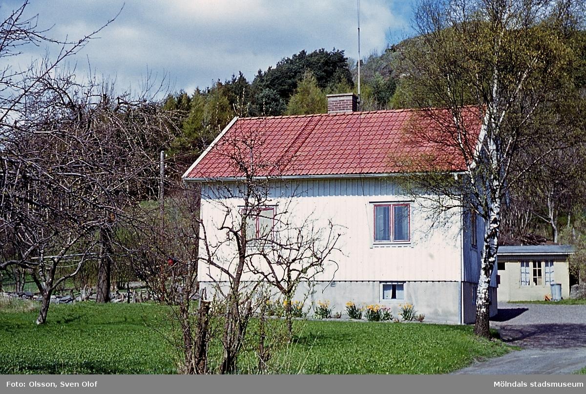 Bostadshus på Tolsegården 2 i Toltorp, Mölndal, år 1965.