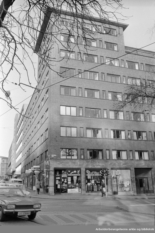 St.Olavs gate 31. November 1974