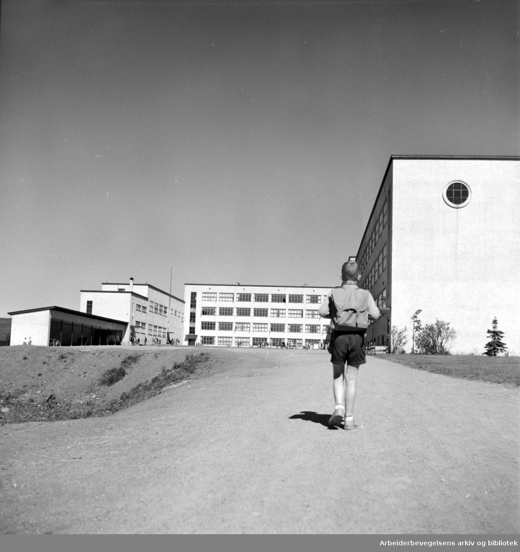 Sinsen Gymnas.Juni 1950