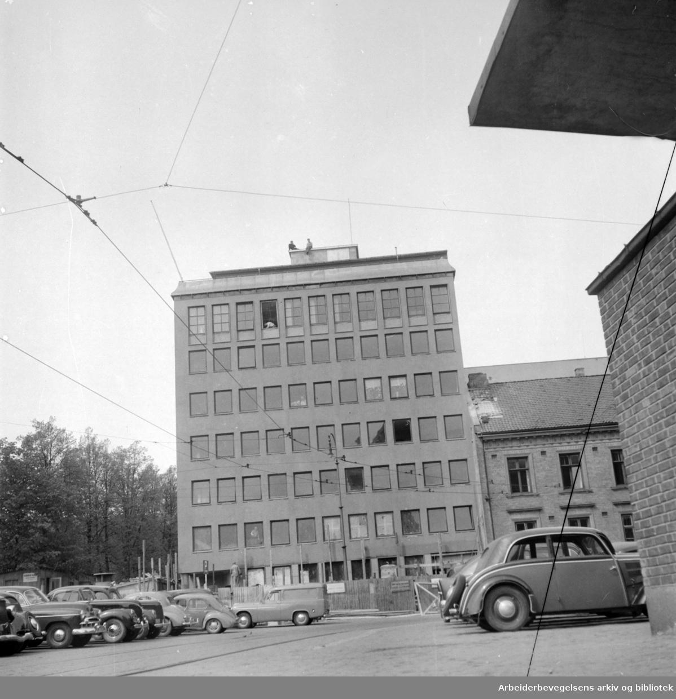 Sjømennenes Hus. Juli 1953