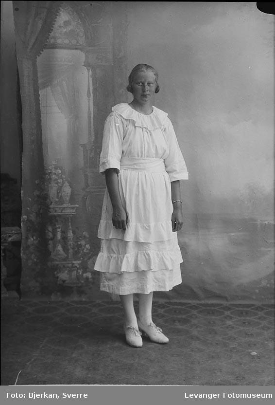 Portrett av Ingrid Nilsen