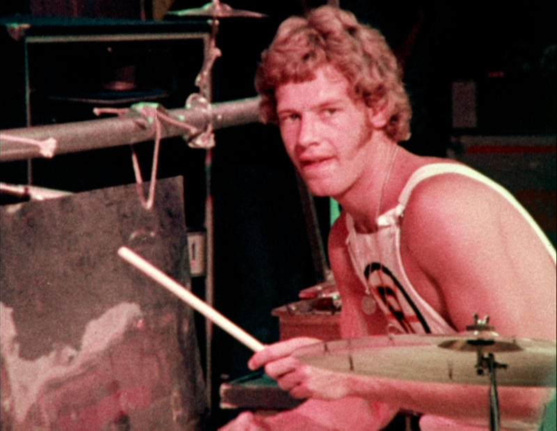 Bill Bruford med King Crimson i 1973.