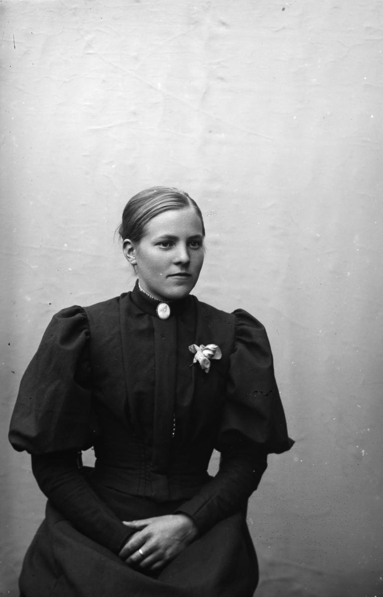 Portrett, ung kvinne, Anna Olsdatter Svennebakken