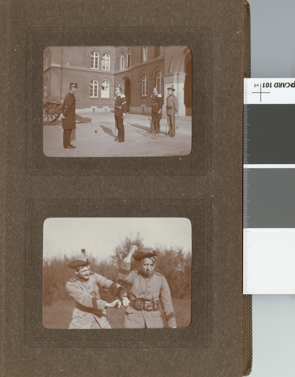 Soldater vid Göta livgarde I 2.