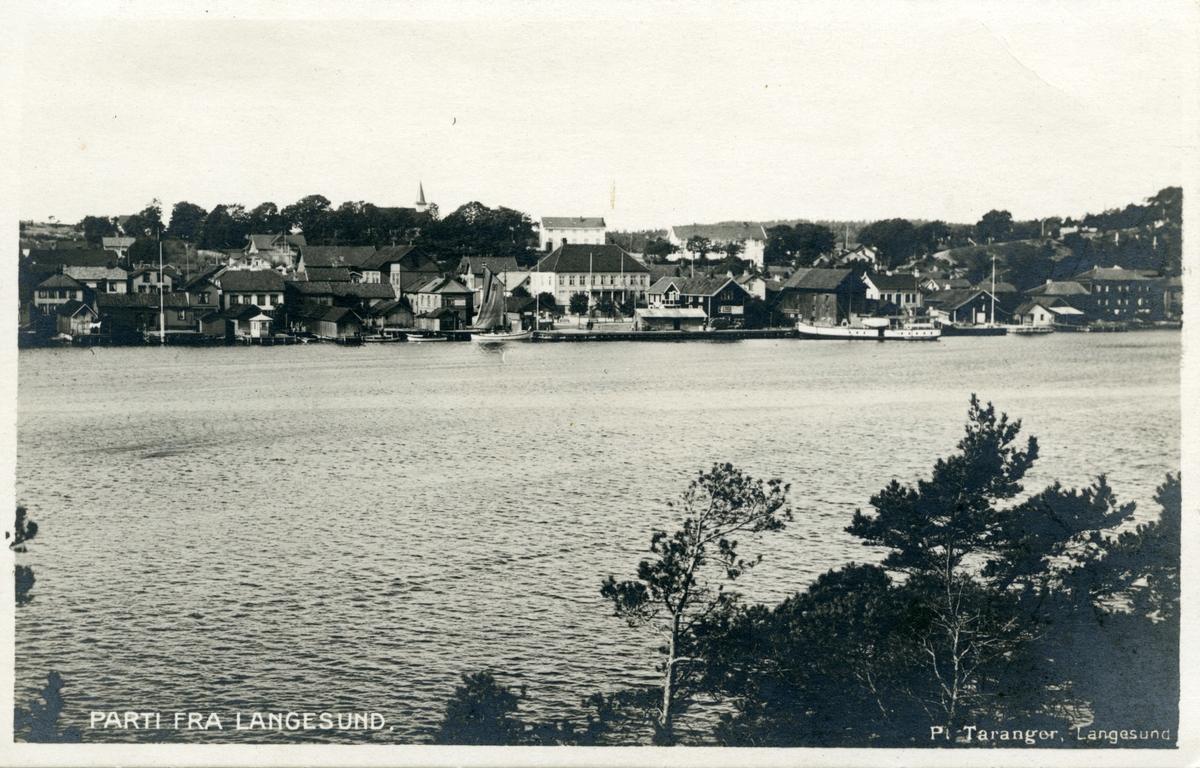 Parti fra Langesund
