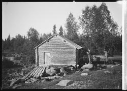 Skvaltkvarn, Norrbotten Korpilomolo socken. Byns skvaltkvarn