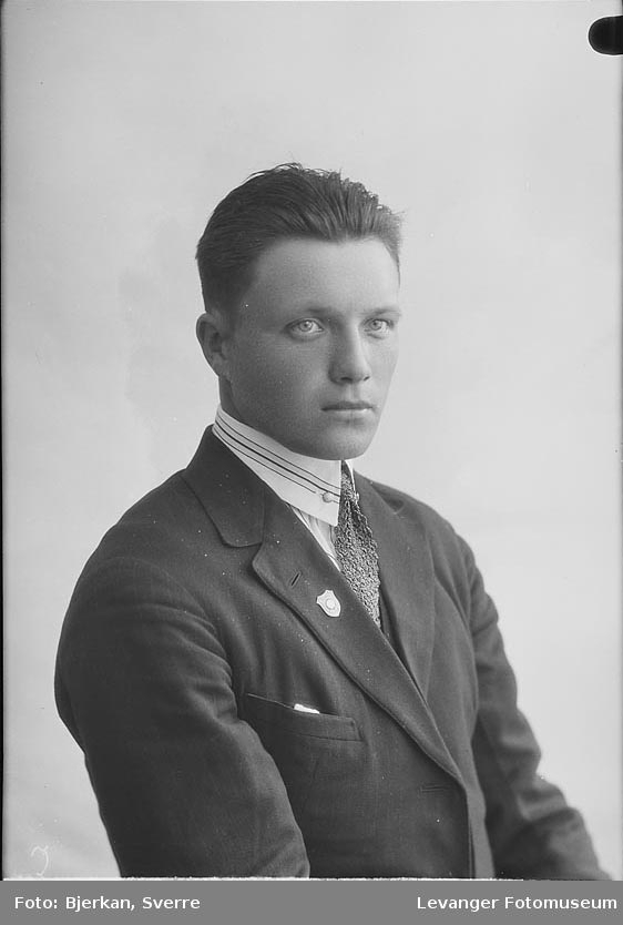 Portrett av Alf Nygård