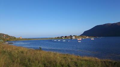 Smørfjord i Porsanger (Foto/Photo)