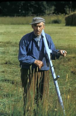 Husmann Olaf Andreassen, Ringsaker, ca. 1955.