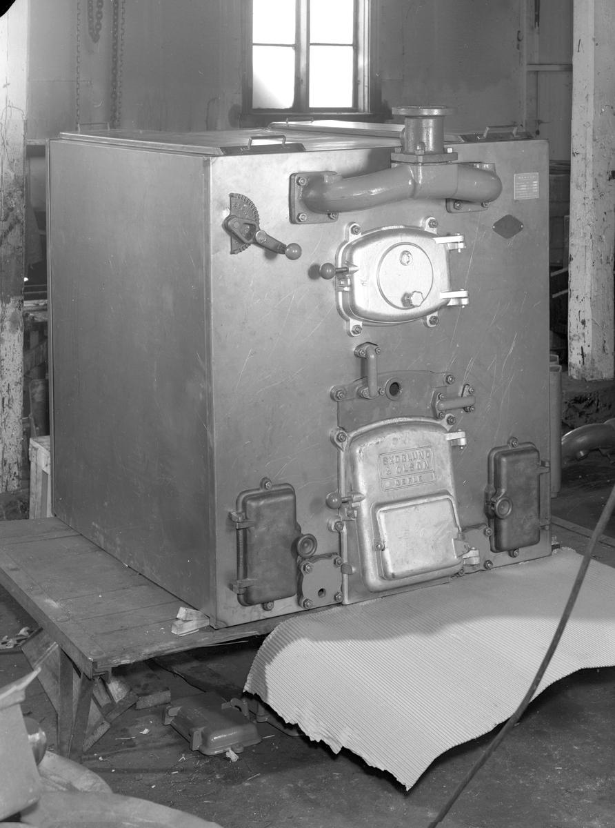 Värmepanna, den 28 augusti 1957