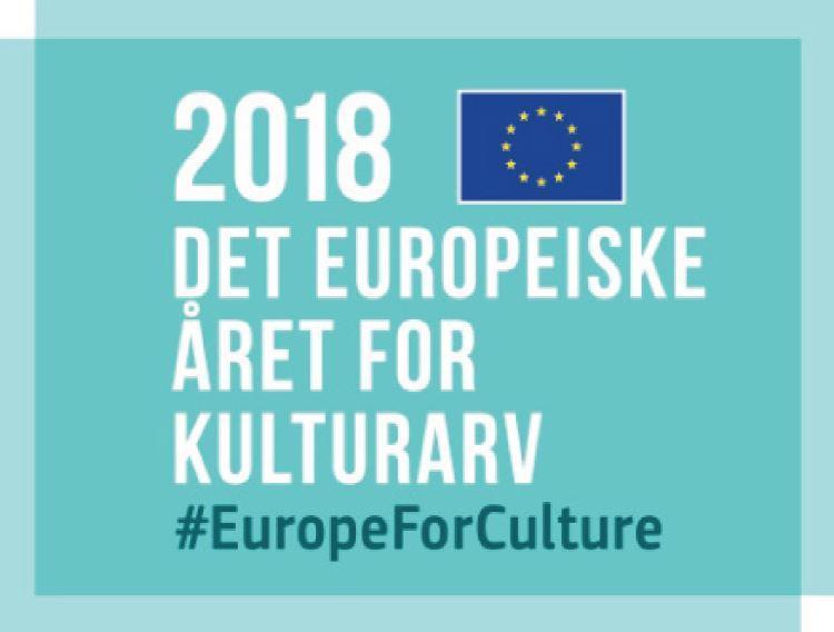 Arrangementet er del av vår markering av Det europeiske kulturarvåret 2018.
