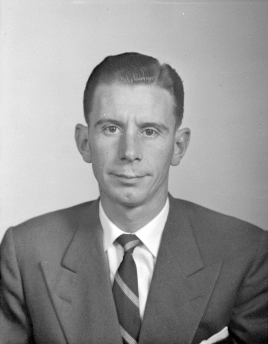Sten Ålenius. Den 22 september 1956