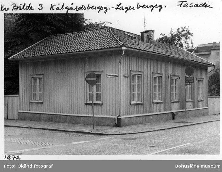 Kv. Bilde 3. Kålgårdsbergsg. - Lagerbergsg. Fasader.