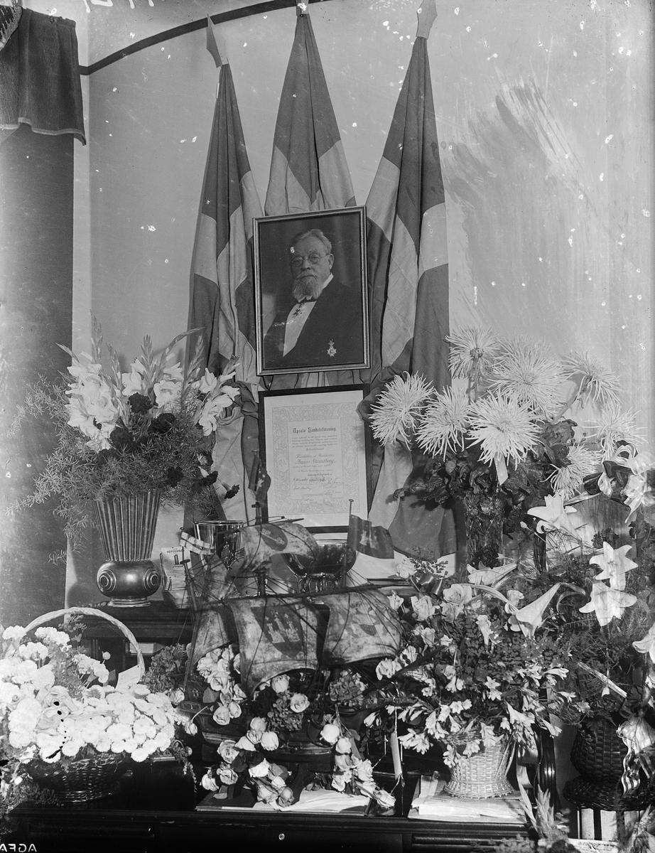 AB Strandbergs, Uppsala - affären firar 50-årsjubileum 1935