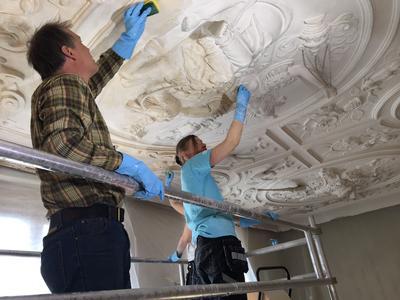 Rensing av tak i Bybygg