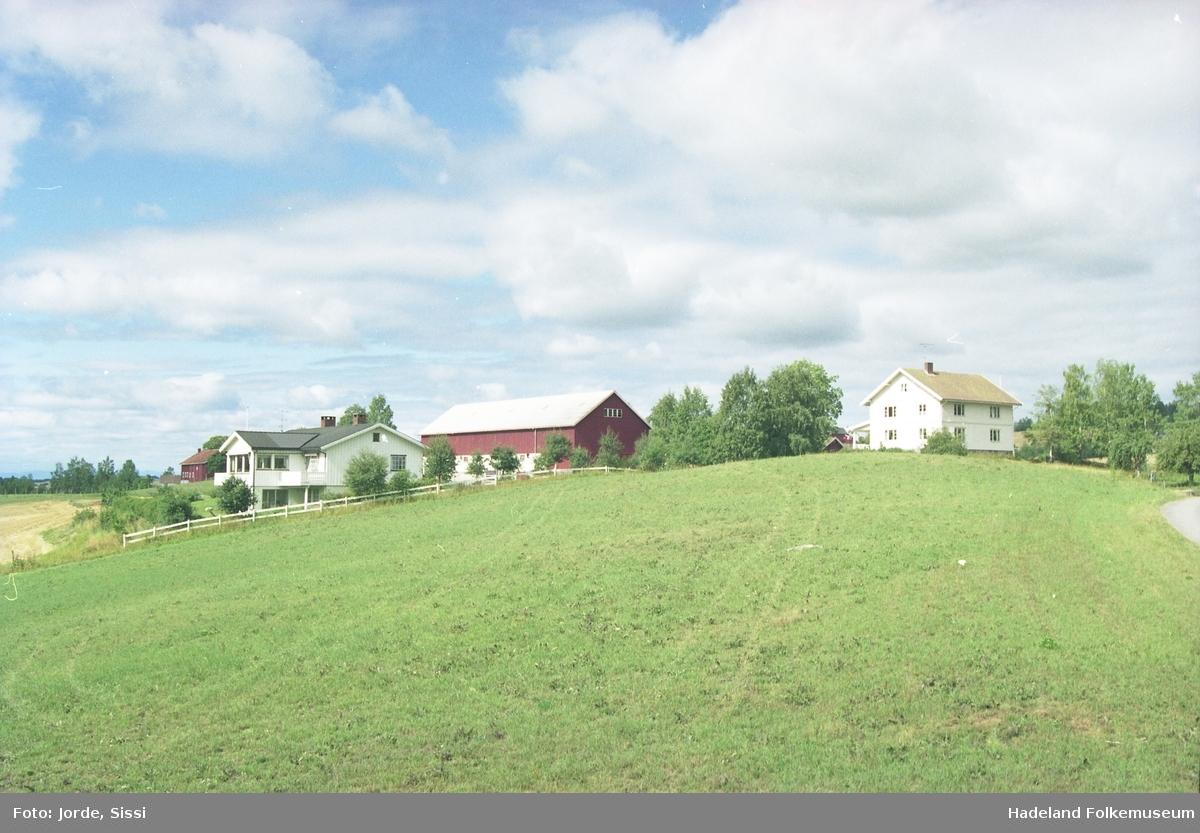 Gården Braastad vestre i Lunner.