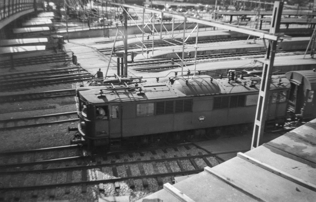 Svensk elektrisk lokomotiv type F nr. 699