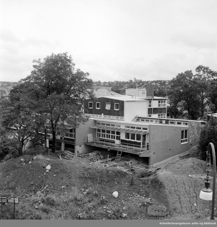 Ragna Ringdals barnehjem på Åsen i begynnelsen av 1950 årene.