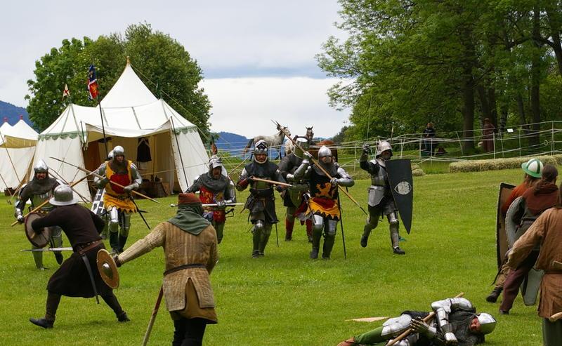 Slag mot ridderleir