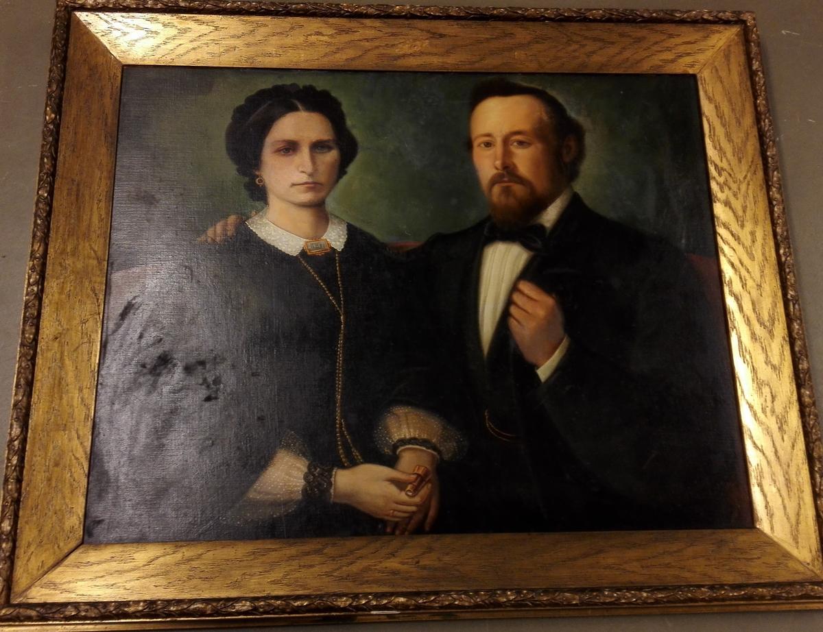 Dobbelportrett - Herr/fru Meidel