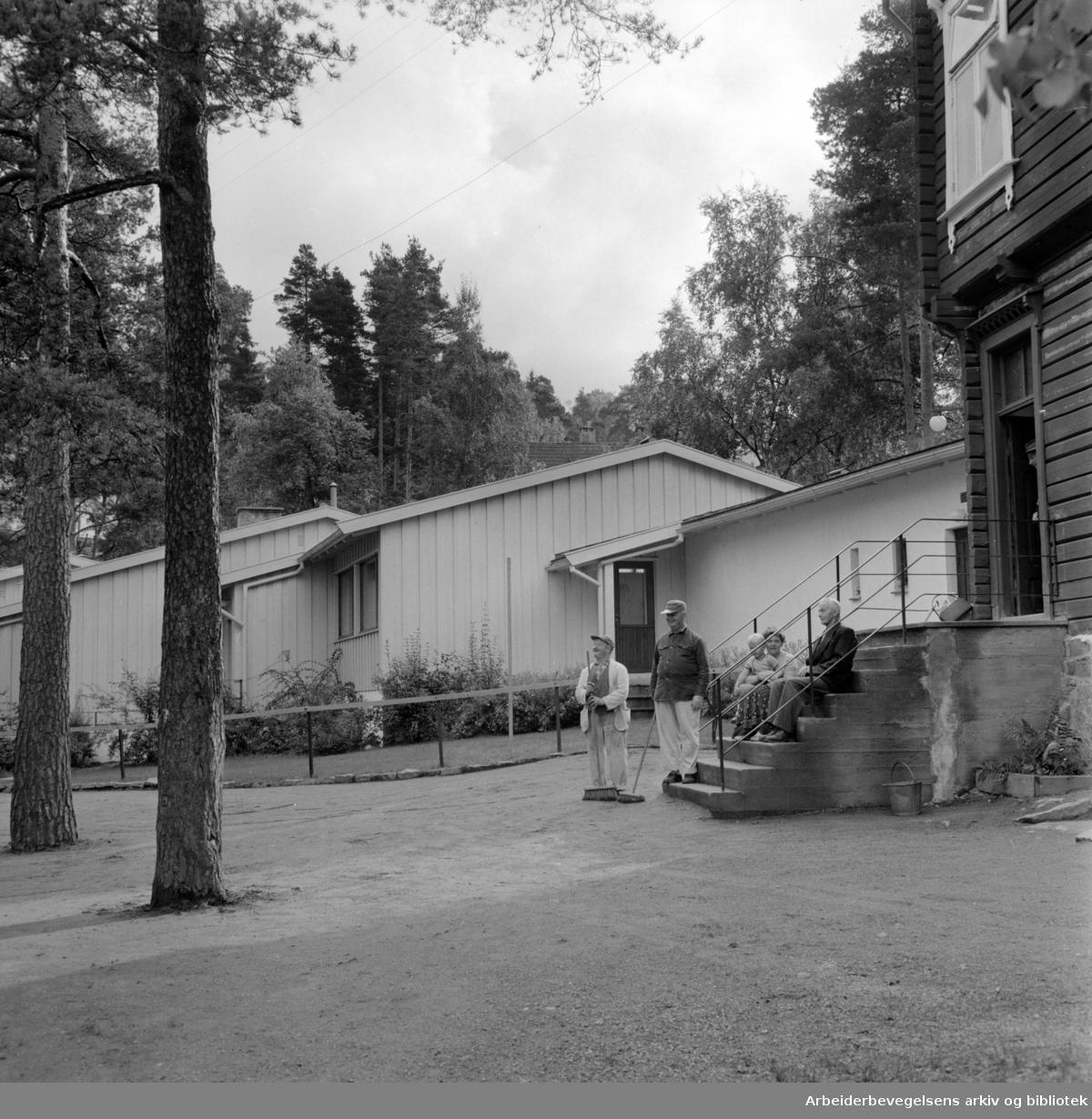 Nordstrand: Hjem for døve. September 1958
