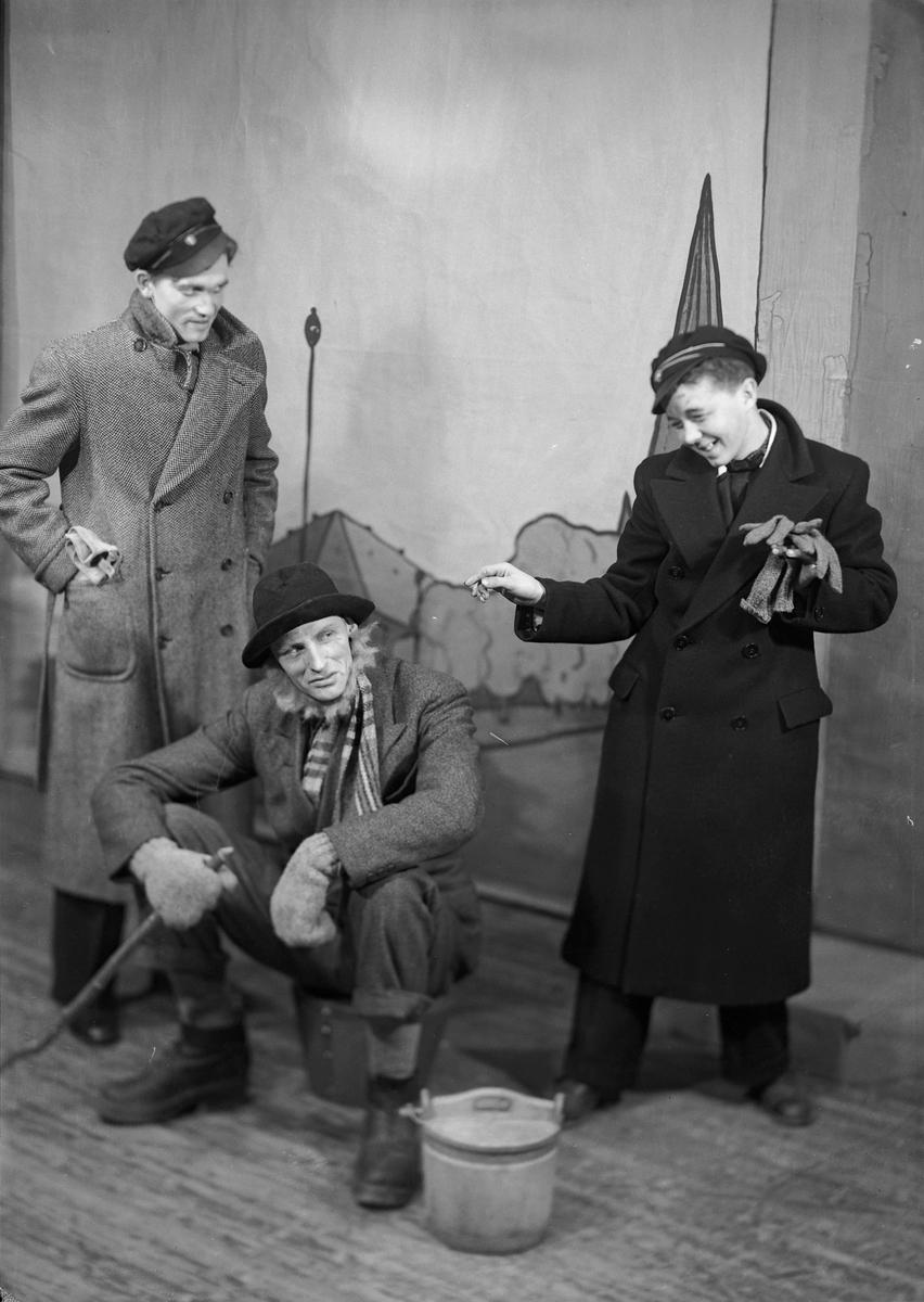 """Idrettsforeningen """"Tempokameratene""""s revy i Hjorten Tivoli 1939"""