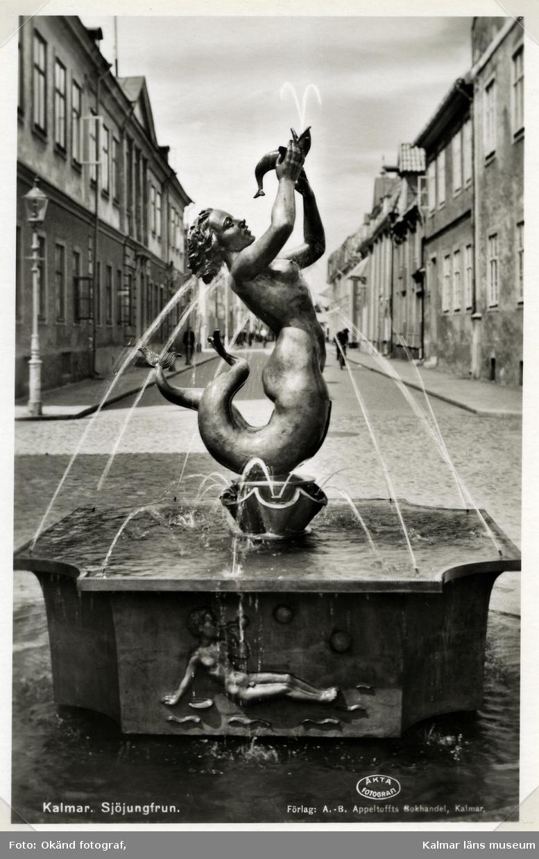 Axel Källströms fontän på Lilla Torget.