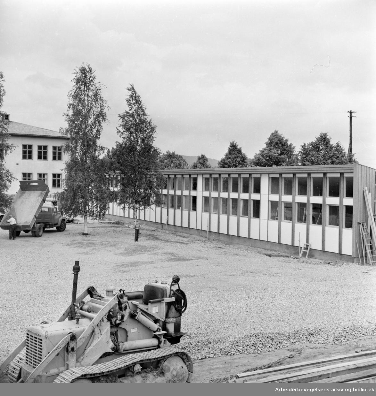 Furuset skole. August 1959
