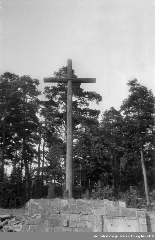 Ekeberg: Tyske æreskirkegård. 1941