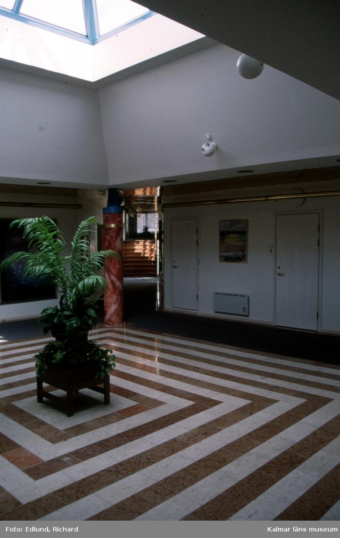 Atrium i Gullringshus kontor i Gullringen.
