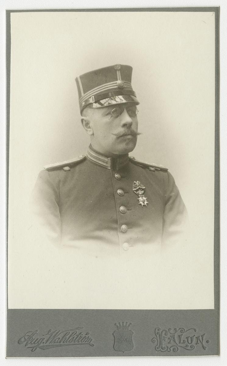 Porträtt av Jakob Georg Palmgren, kapten vid Dalregementet I 13.