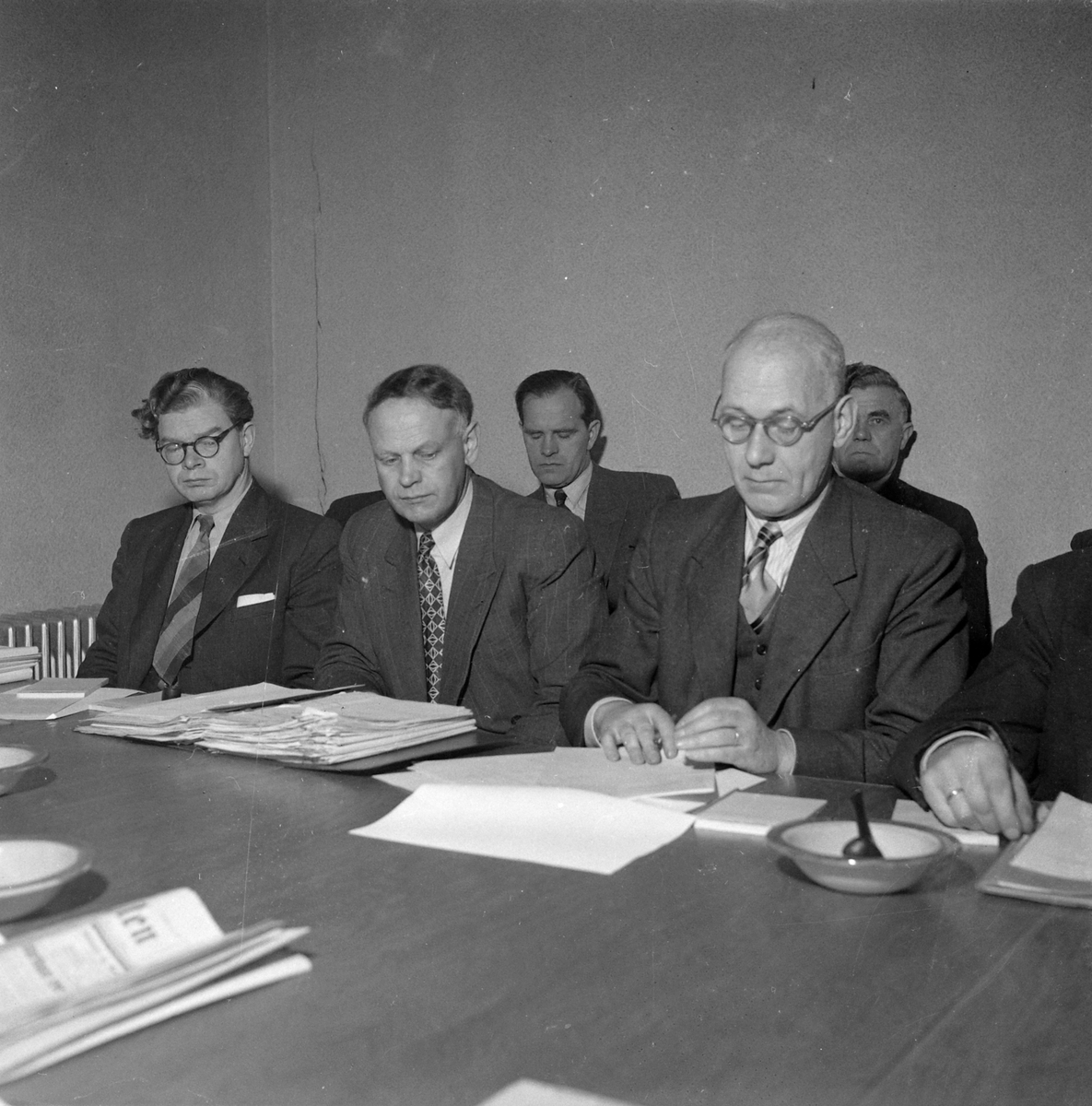 Møte mellom Norges Fiskarlag og Fiskarbanken