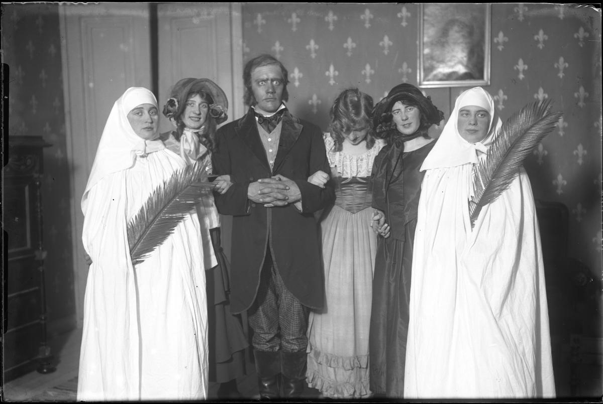 """""""Ett resande teatersällskap"""" på Alingsås Idrottsförenings fest."""