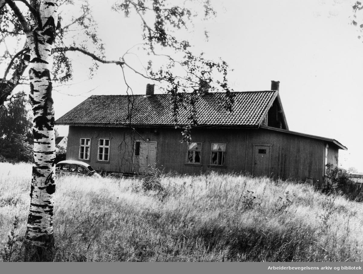 Alnabru. Volla gård. September 1979