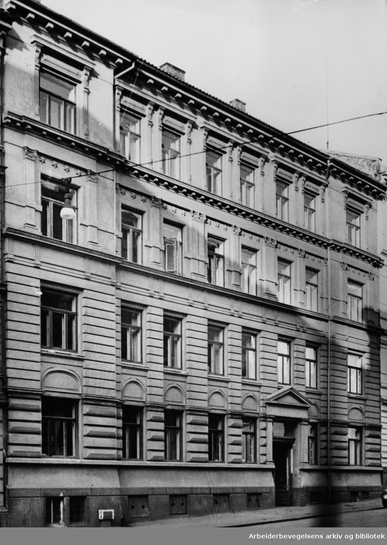 Arbins gate 17, (Lebensborn). November 1945