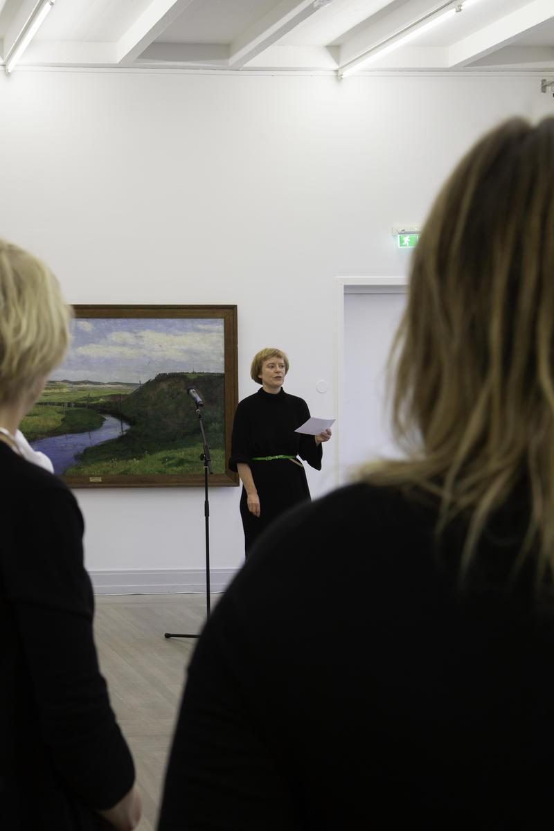 Bilder fra åpningen. Foto: Hanne Gjervig. (Foto/Photo)