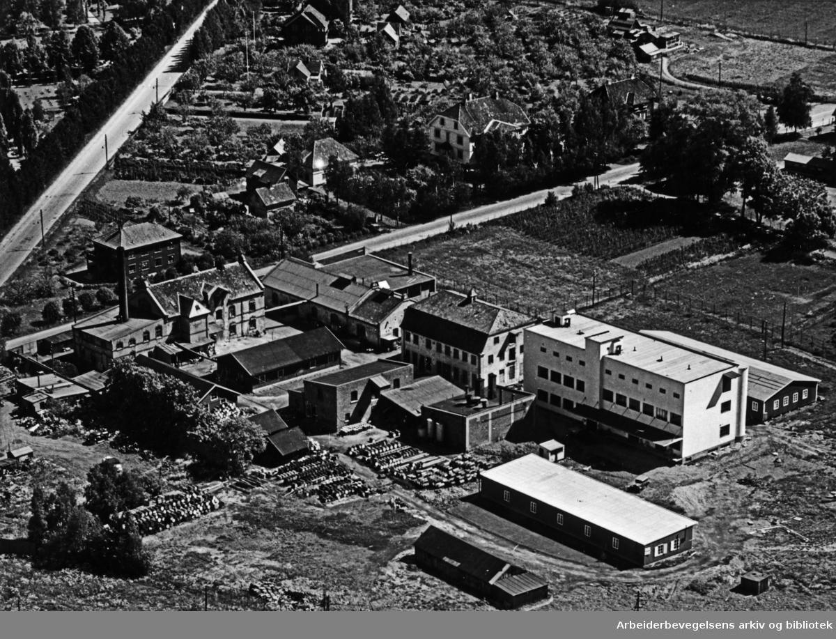Bryn. Flyfoto. Juni 1961