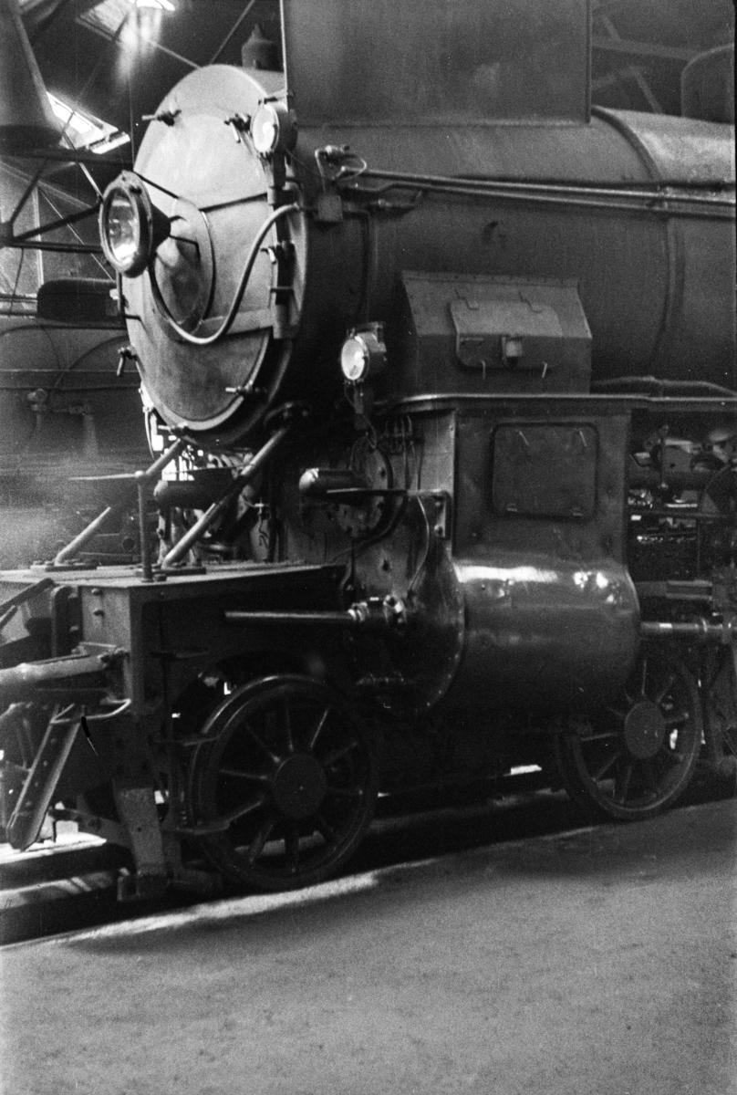 Damplokomotiv type 31a nr. 284 iGamlestallen i Lodalen i Oslo.
