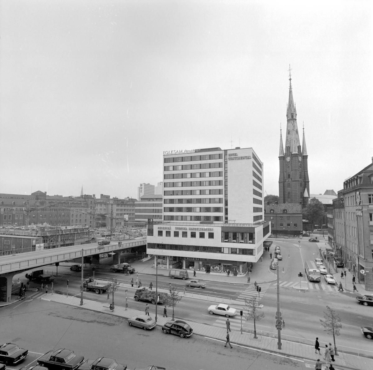 Statens Järnvägars Resebyrå, Vasagatan, Stockholm