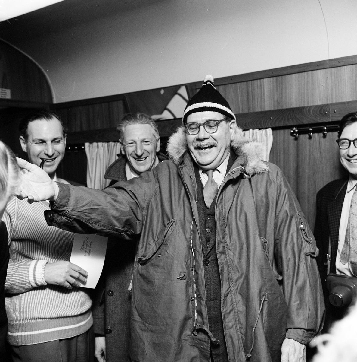 Engelska Journalisters resa till Kiruna
