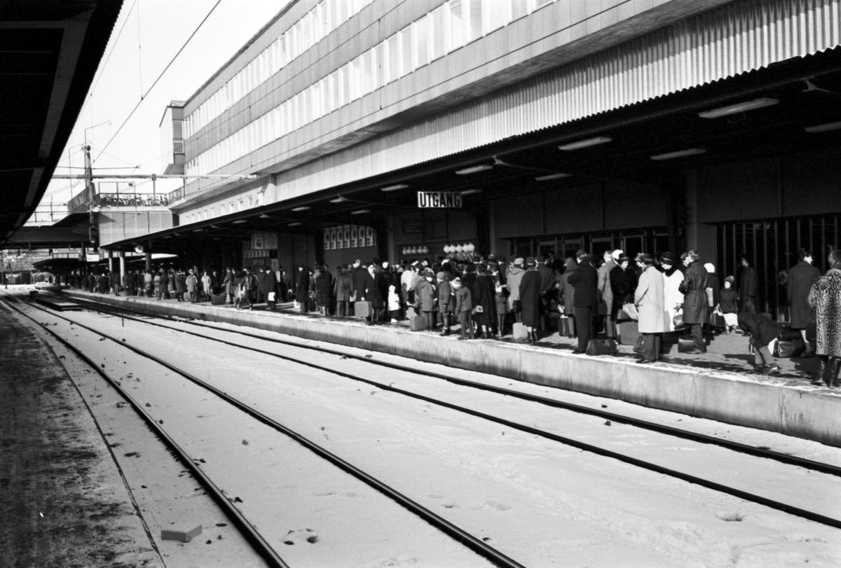 ankommande tåg stockholm central